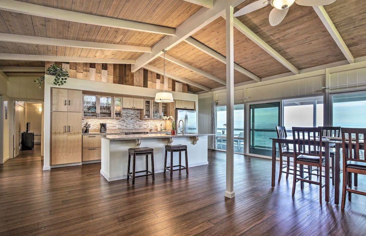 beachfront home near kona, best airbnbs on the big island