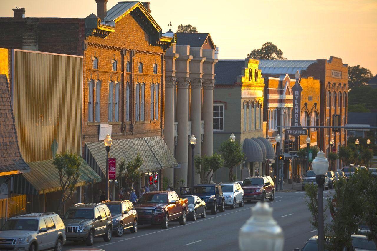 americus, best towns georgia
