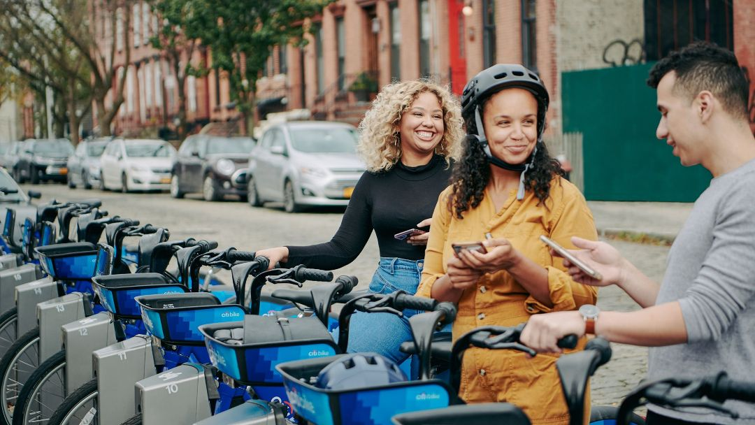 girls riding citi bikes, best outdoor events in new york city 2021