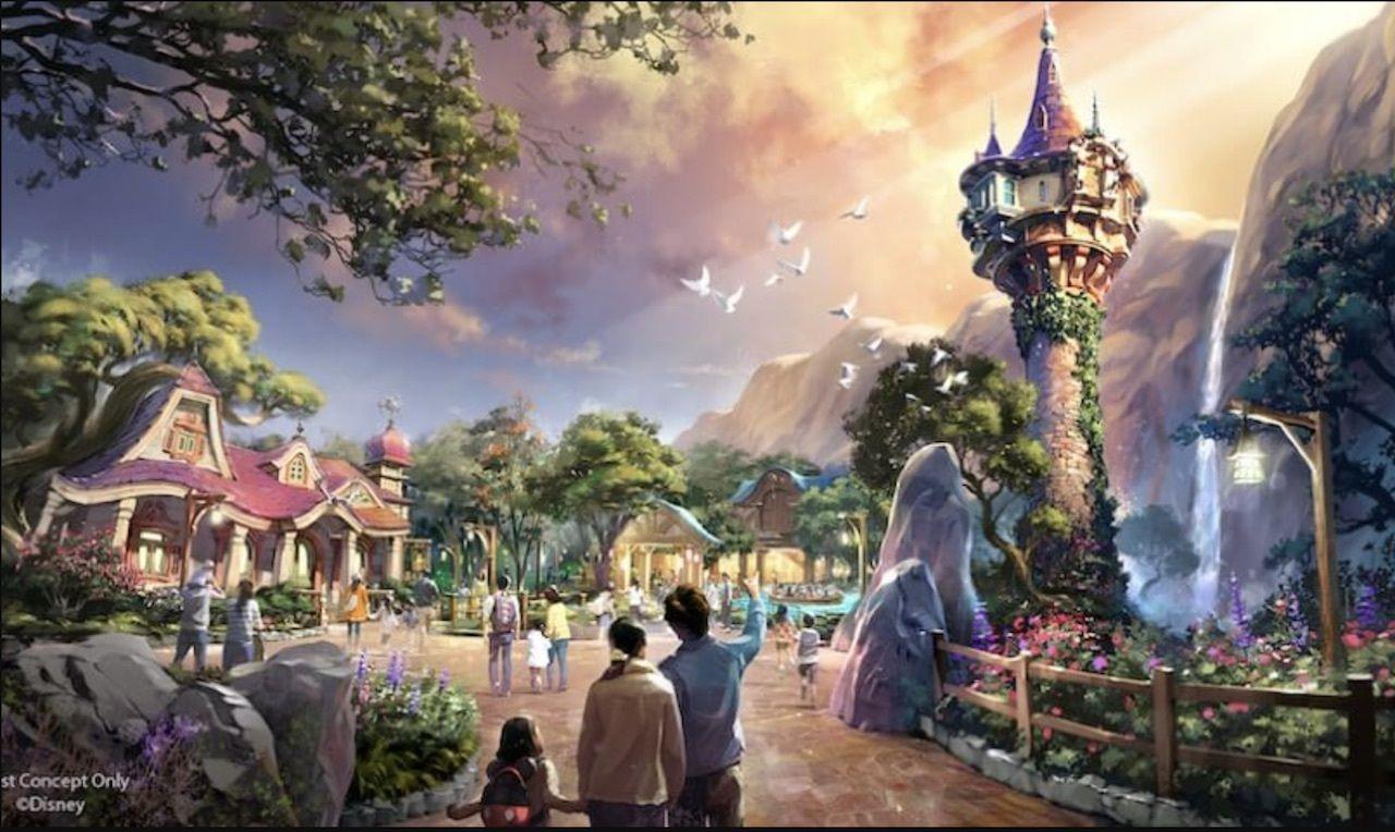 Disney artist rendering