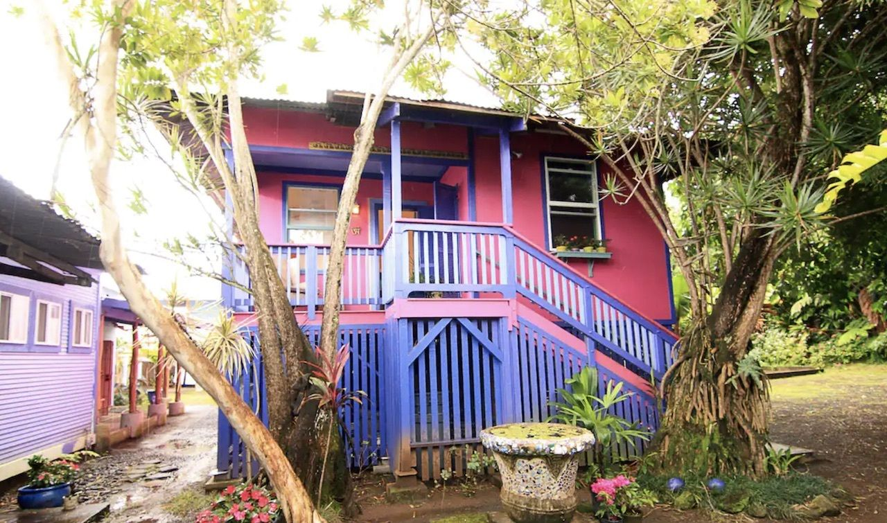pink house downtown hilo airbnb, best airbnbs on the big island