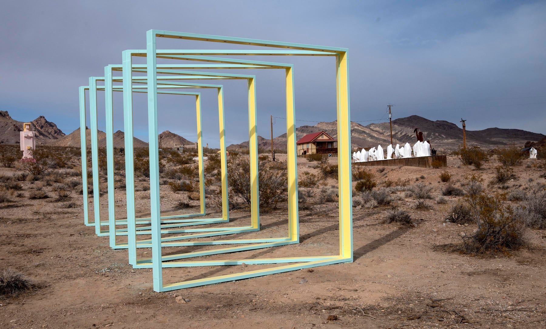 Goldwell Open Air Museum, Nevada Attractions