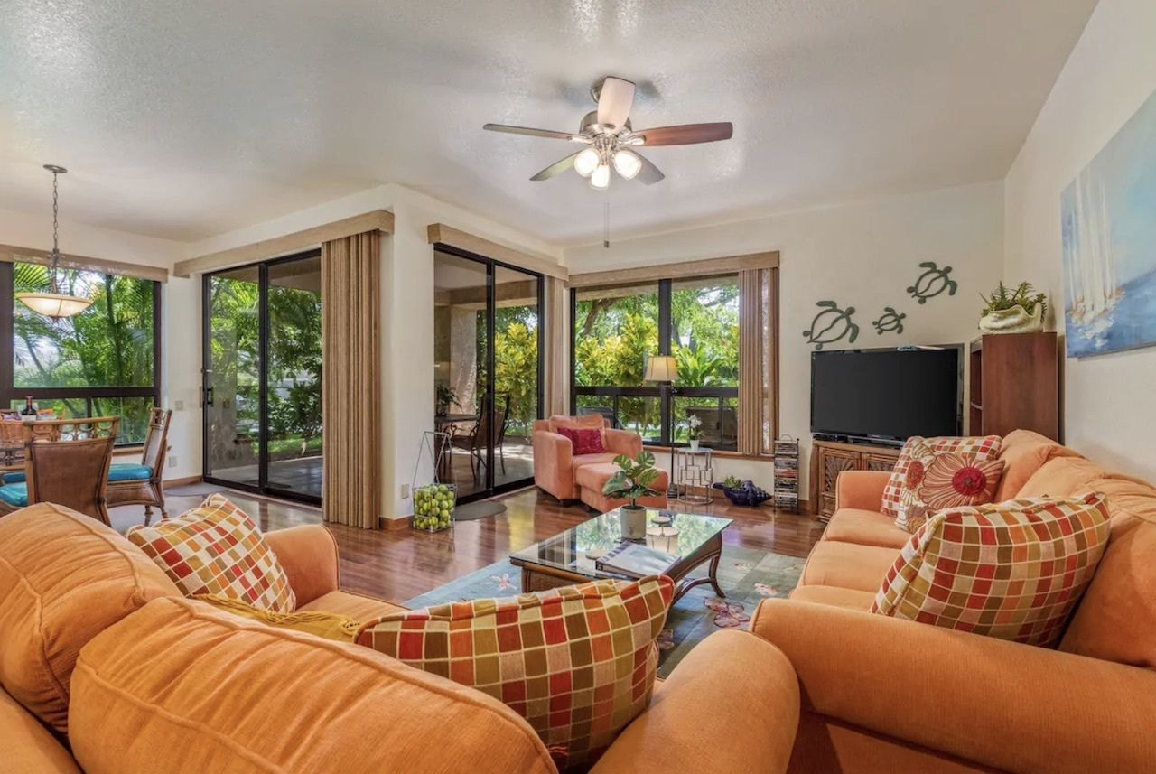 groundfloor condo, best airnbs on the big island