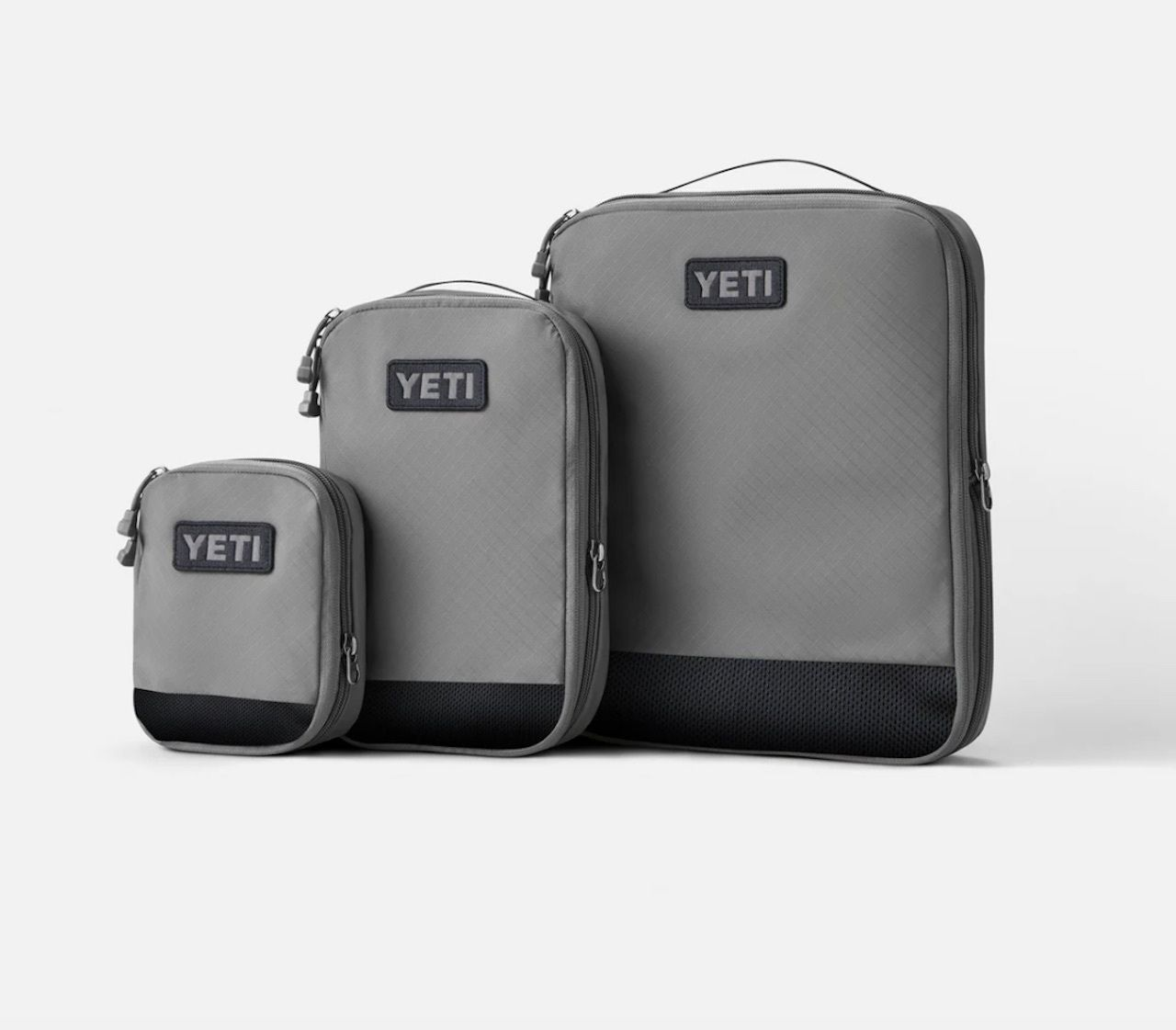 YETI packing cubes, YETI backpacks