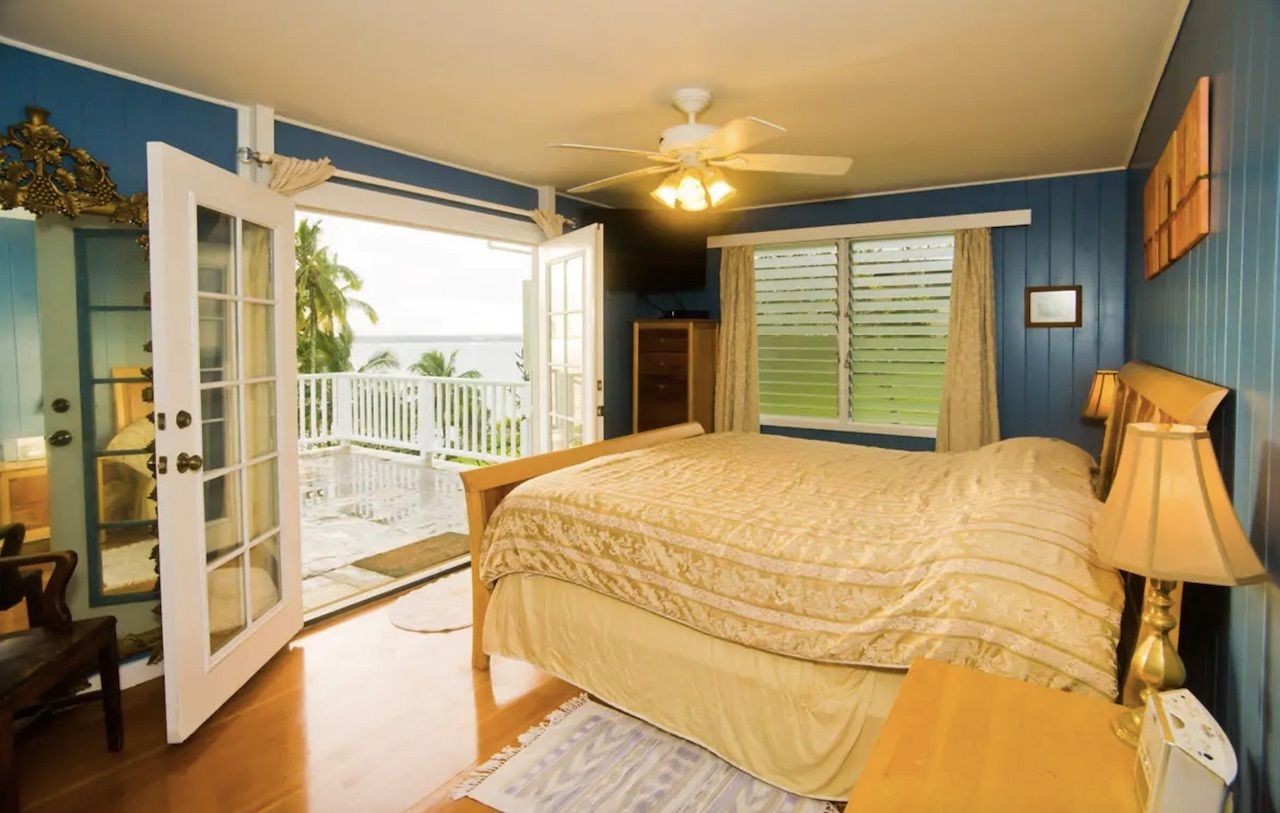 Oceanfront peace of paradise airbnb, best airbnbs on the big island