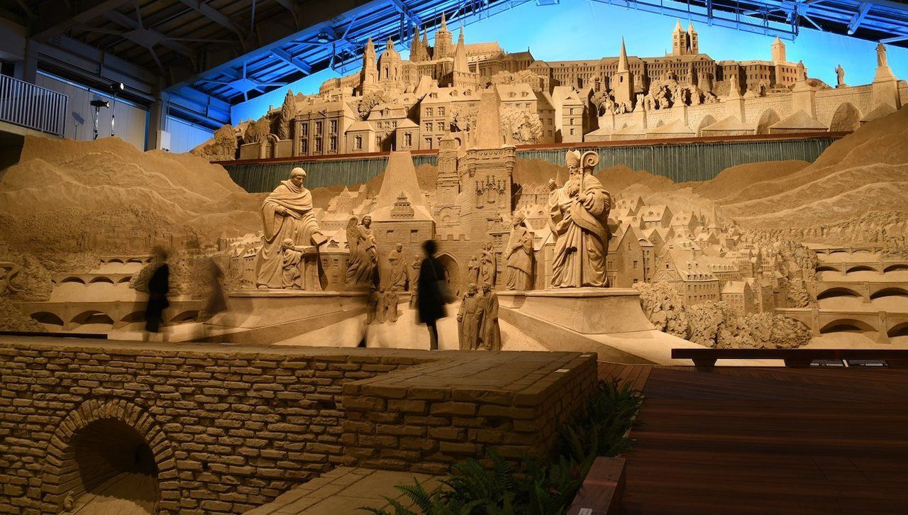 Sand museum artifacts, museums in japan