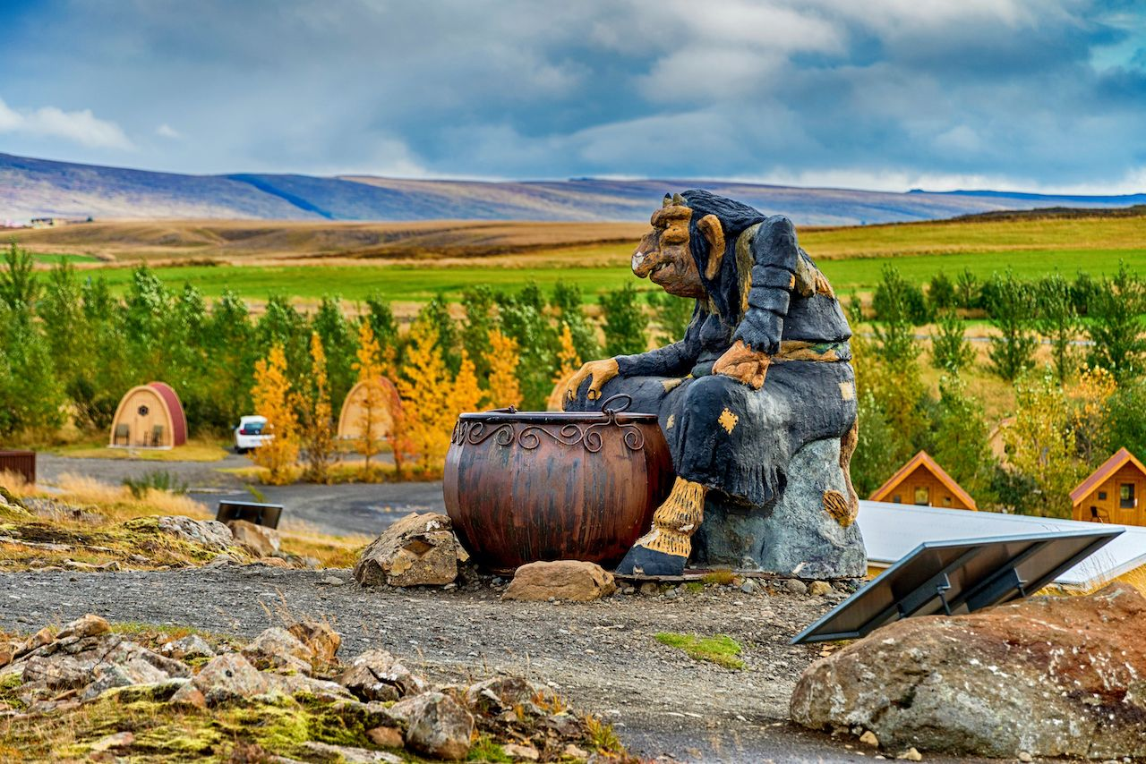 Troll statues in Iceland, Icelandic culture