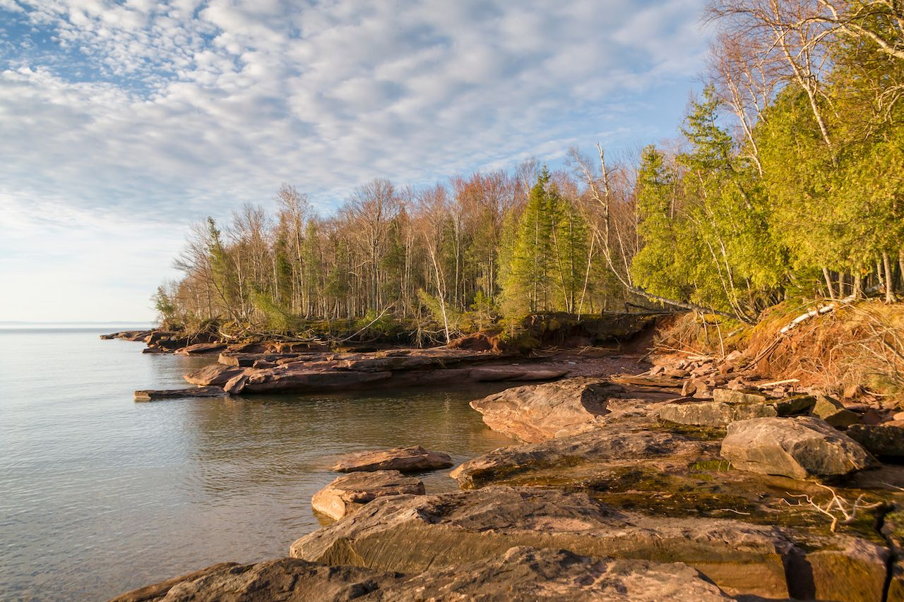 Madeline Island's Lake Superior Shore, Midwest islands