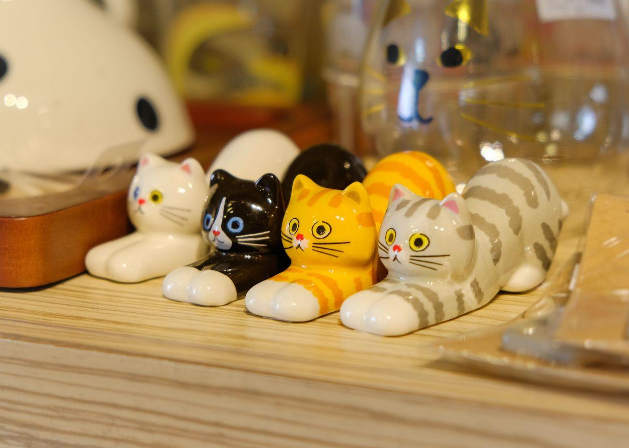 Miniature souvenir dolls in souvenir shop in Otaru Hokkaido, JAPAN, museums in japan