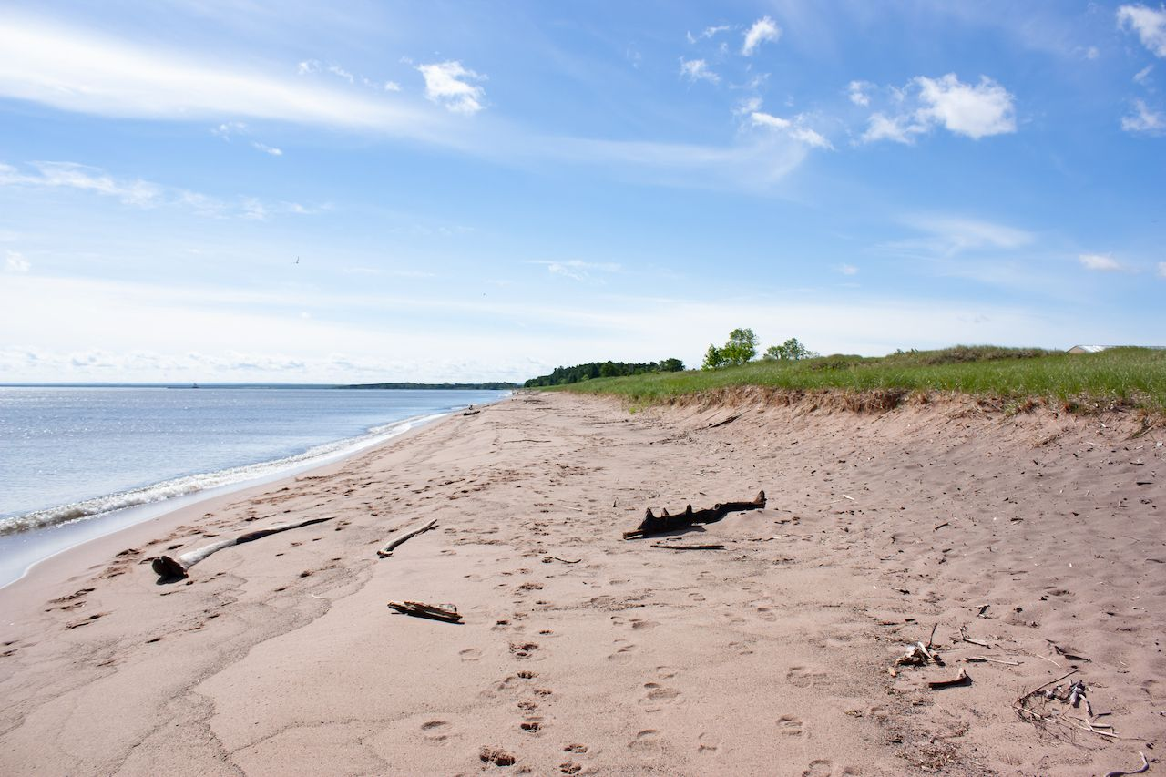 Park Point Recreation Area in Duluth., outdoors in duluth