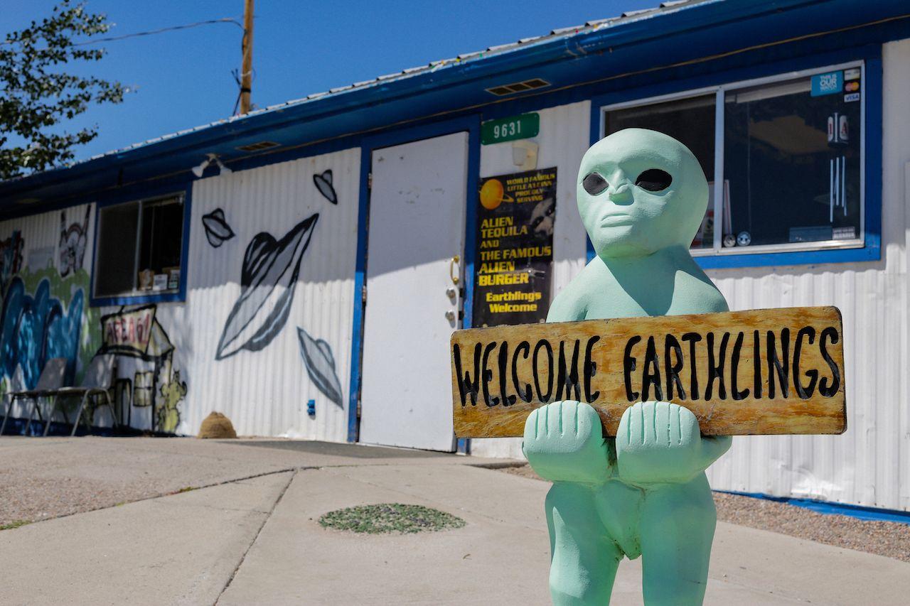 Little A'Le'Inn near Area 51, Nevada attractions