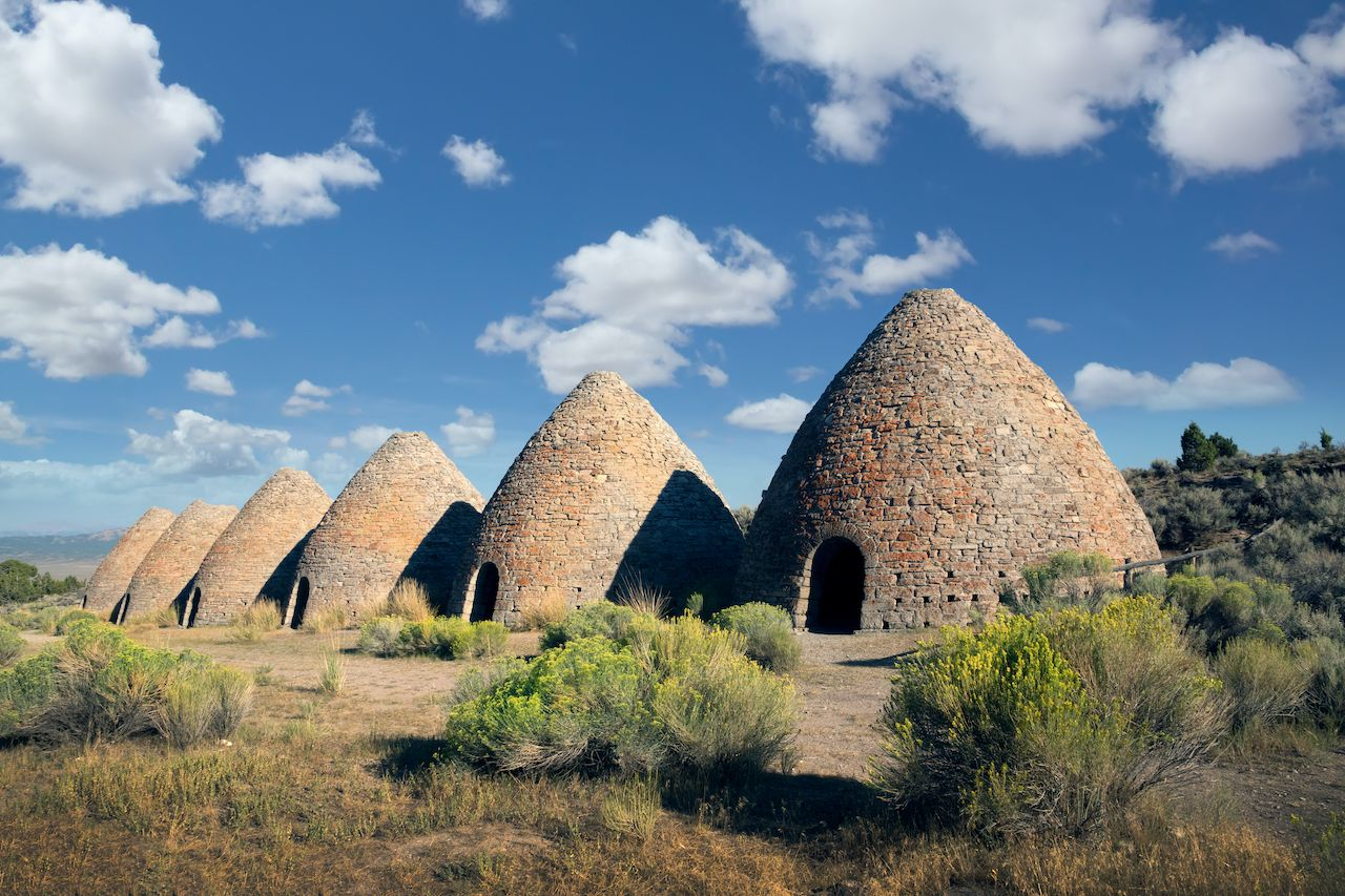 Ward Charcoal Ovens in the Egan Mountain, Nevada, Nevada attractions