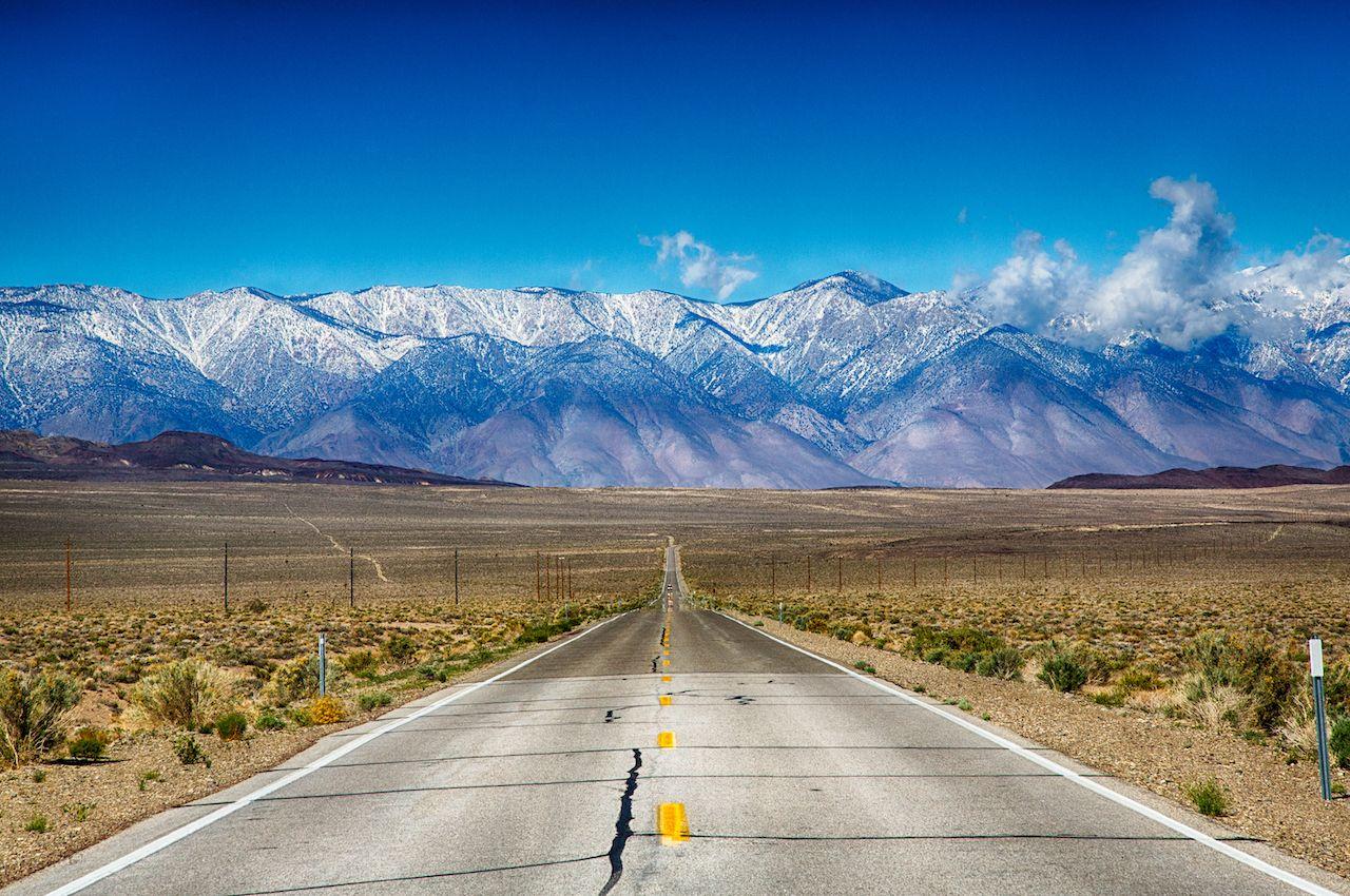 Sierra Nevada highway, best states for vanlife