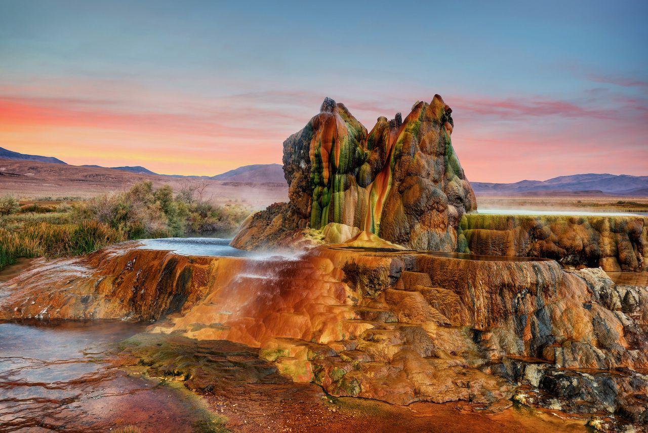 Fly Gyser Nevada, Nevada attractions