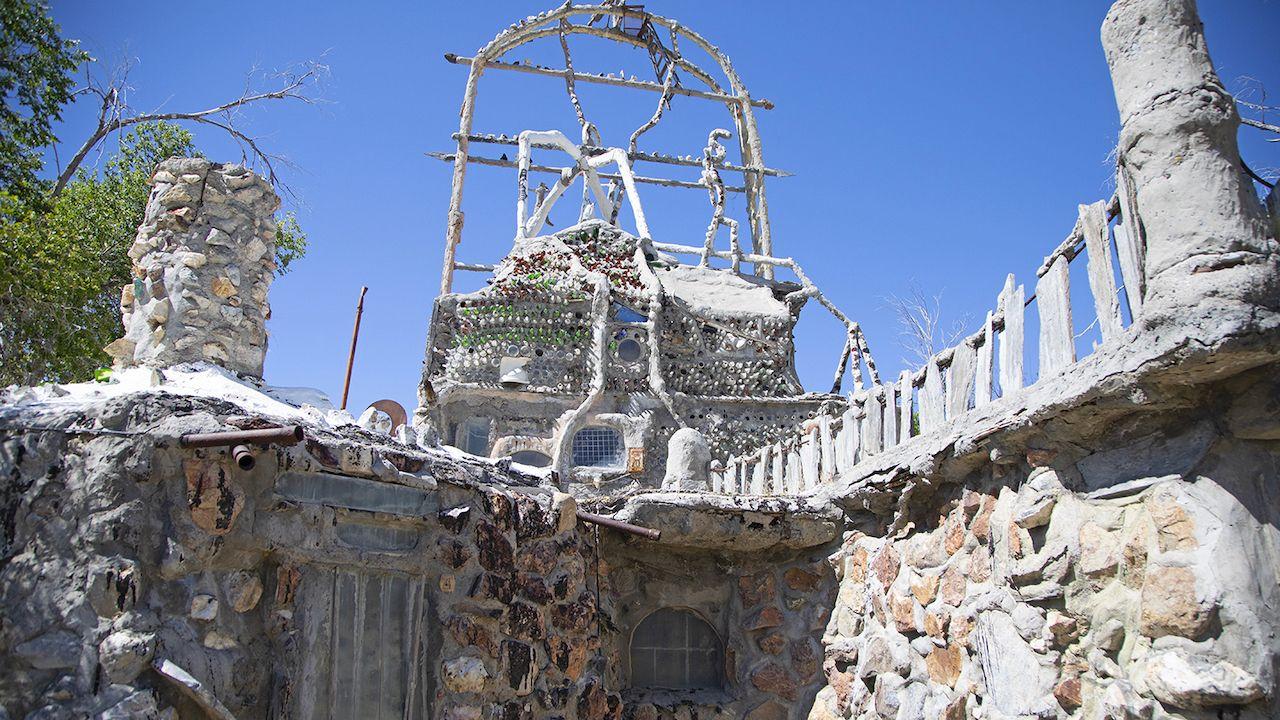 Thunder Mountain near Lovelock, Nevada attractionns