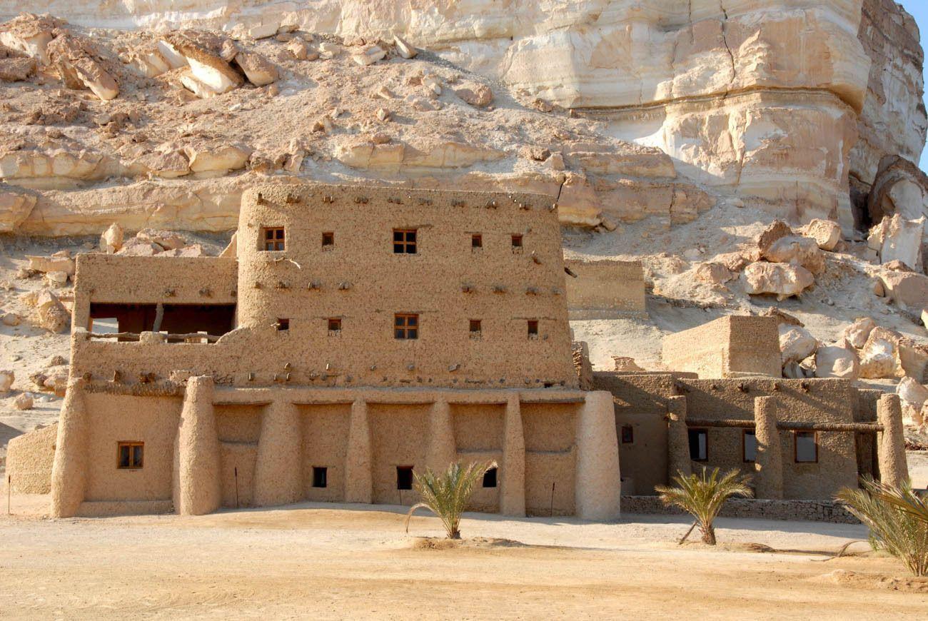 Adrere Amellal eco-lodge, Siwa Oasis, Egypt