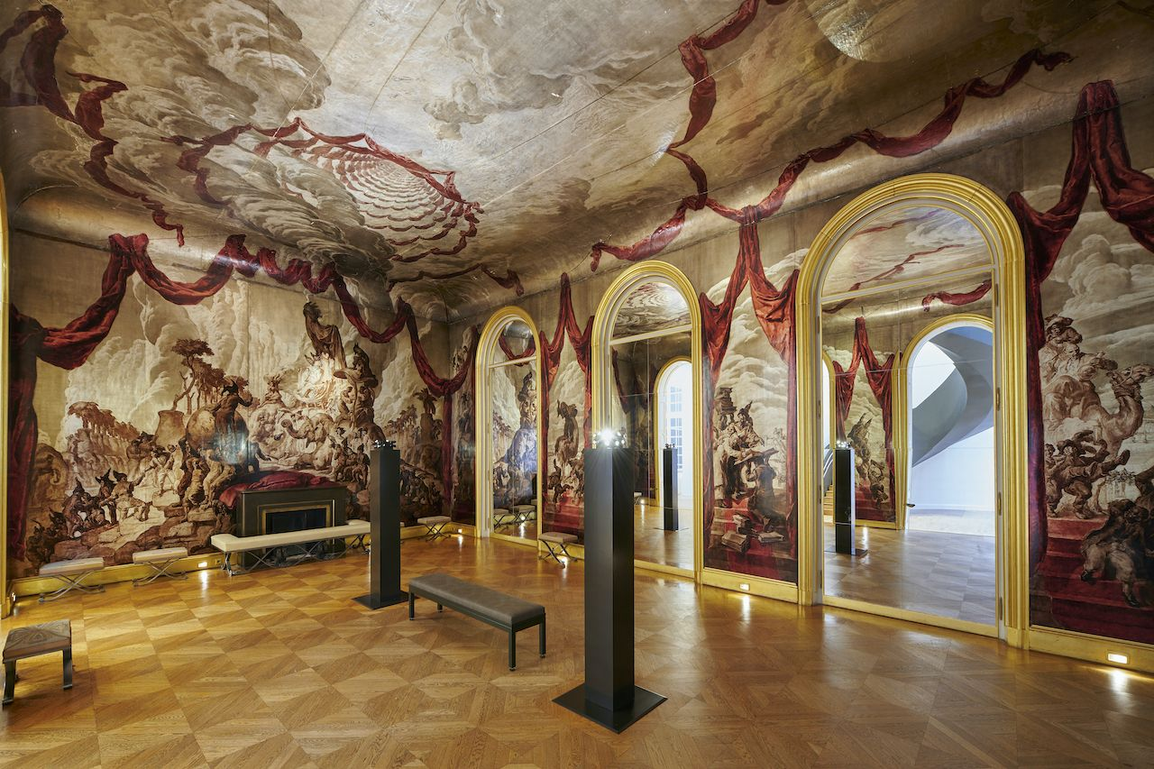 Ballroom at Musee Carnavalet Paris