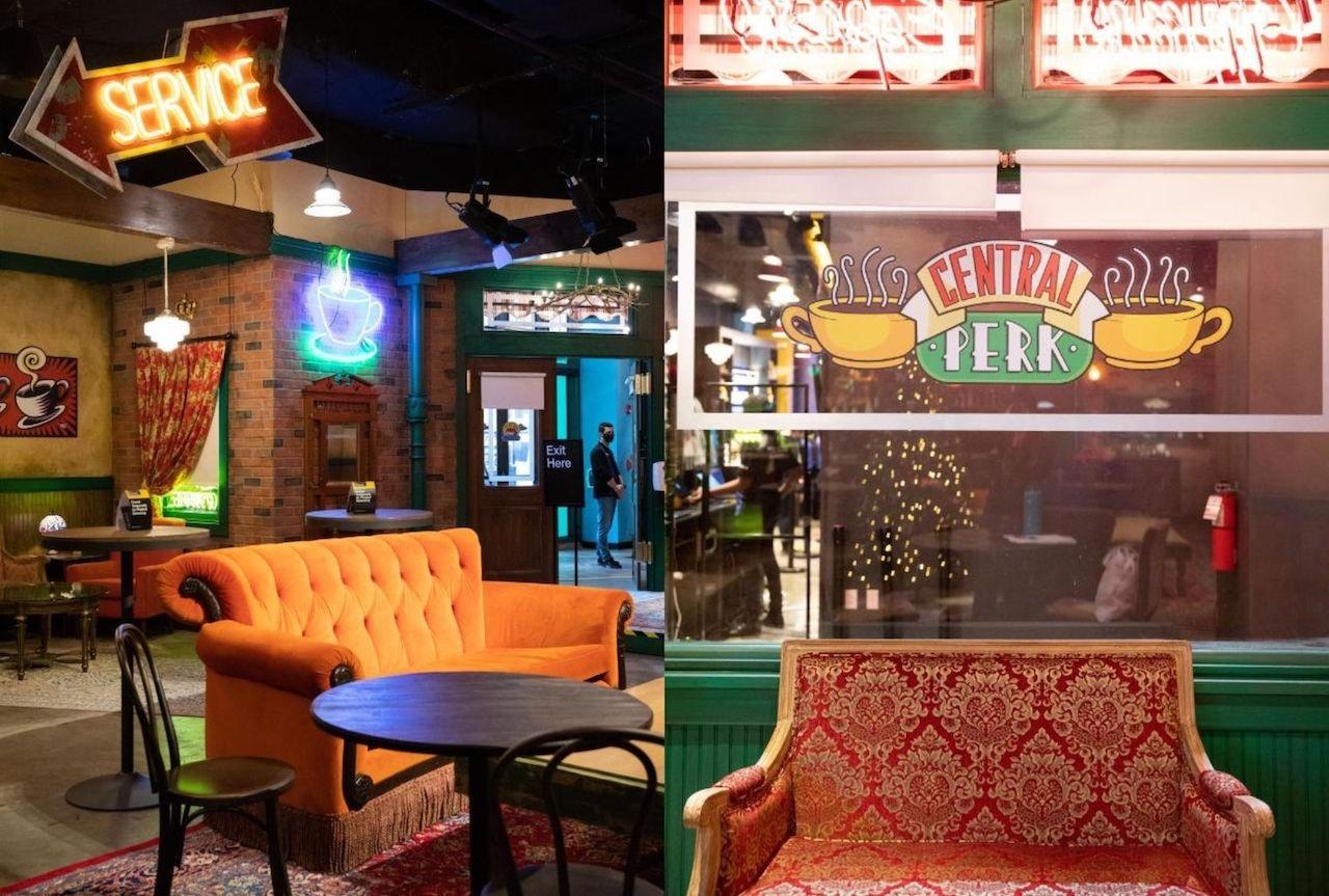 Central Perk set coffee room,