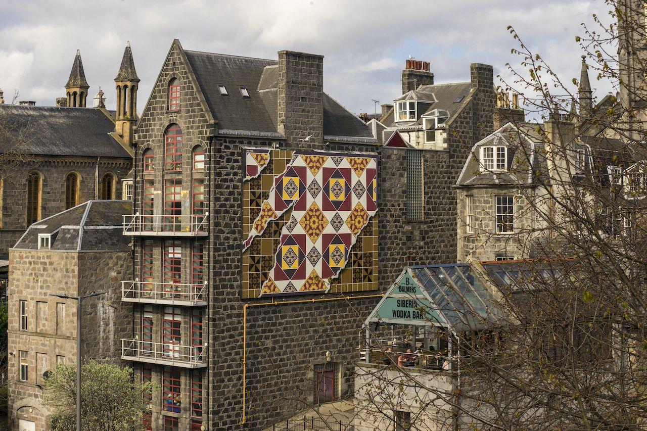 Diogo Machado's artwork in Aberdeen Scotland