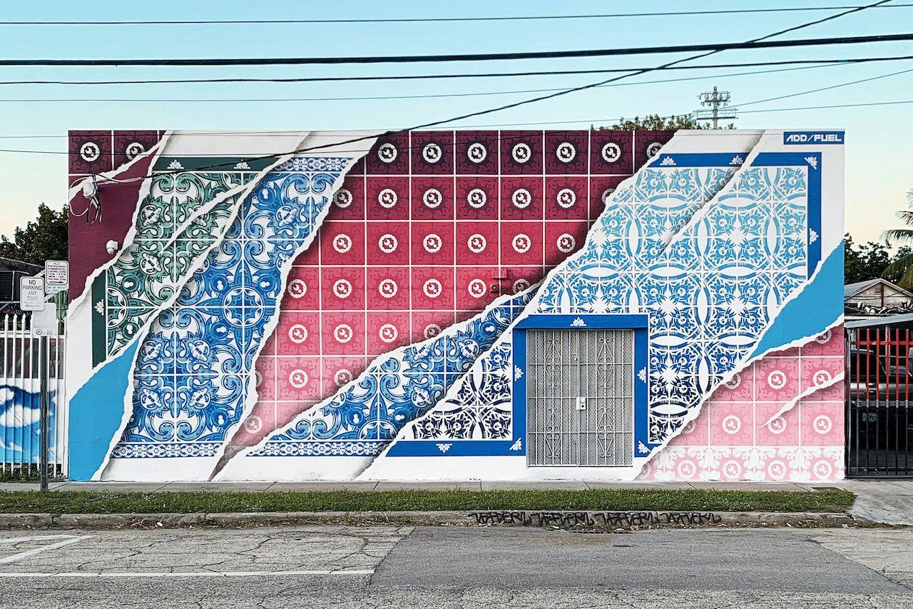 Diogo Machado's artwork in Miami Florida