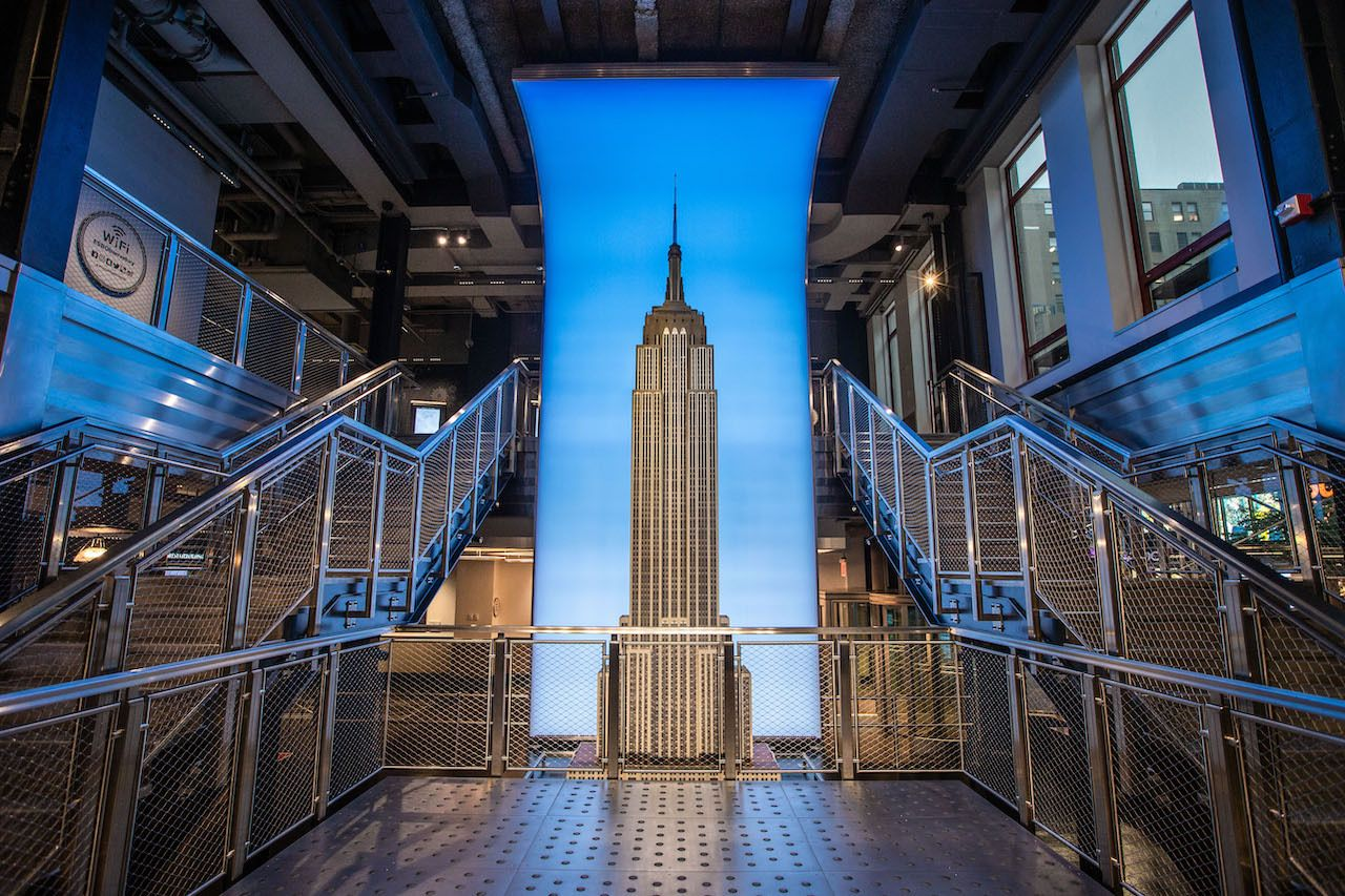 Empire State Building Grand Staircase