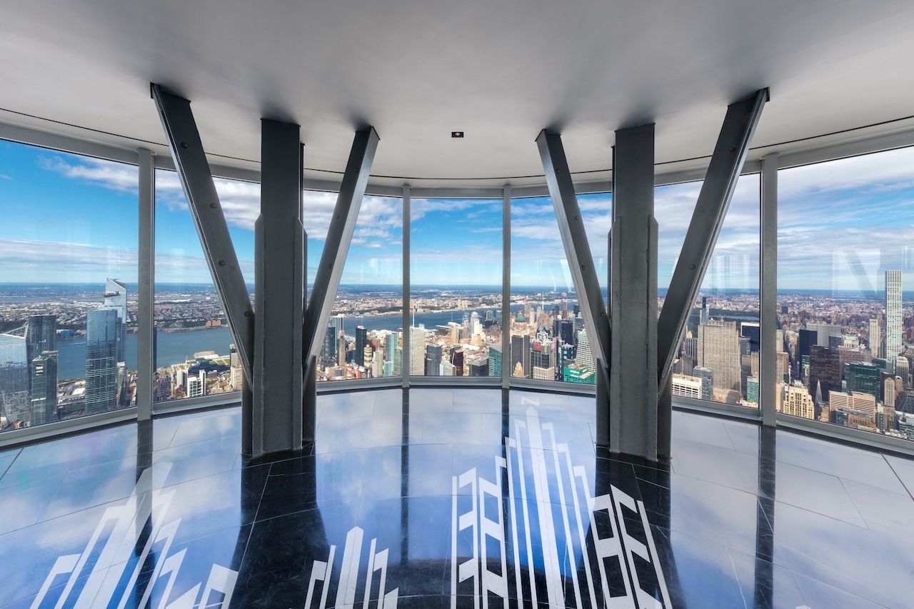 Empire State Building Observation floor-to-ceiling windows