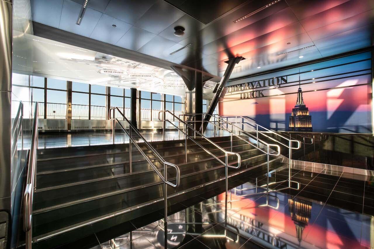 Empire StateBuildings observation Deck Entrance