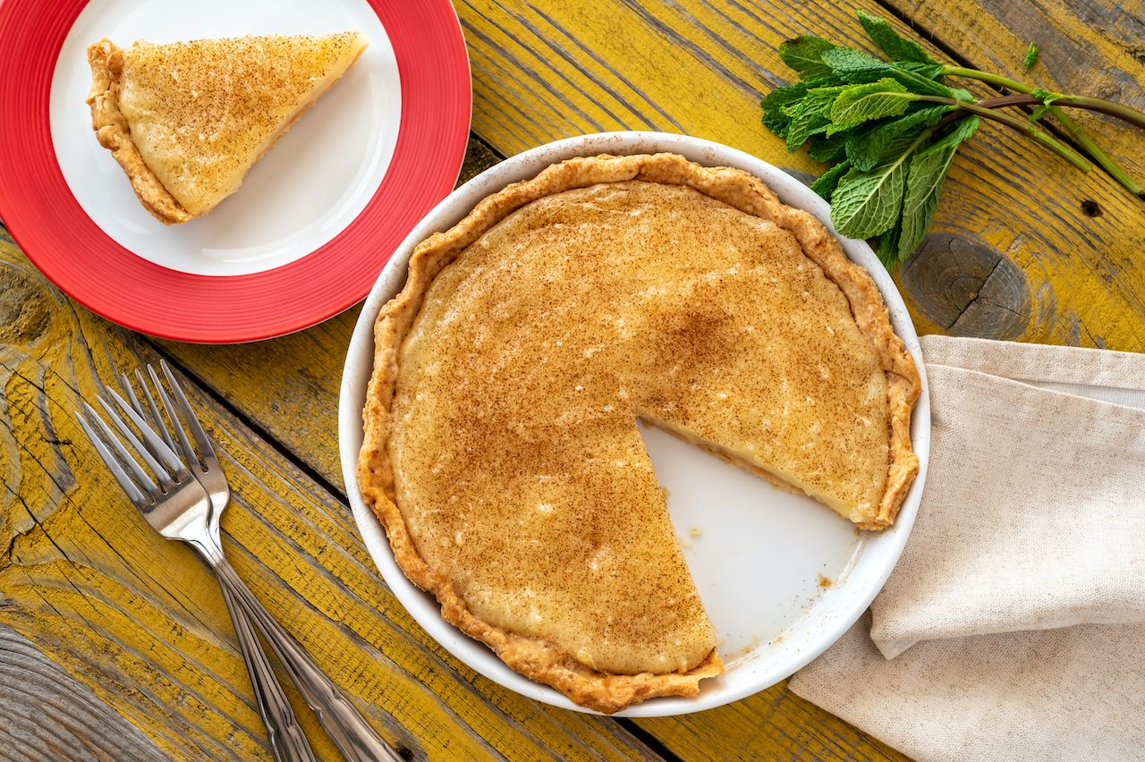 Indiana hoosier pie