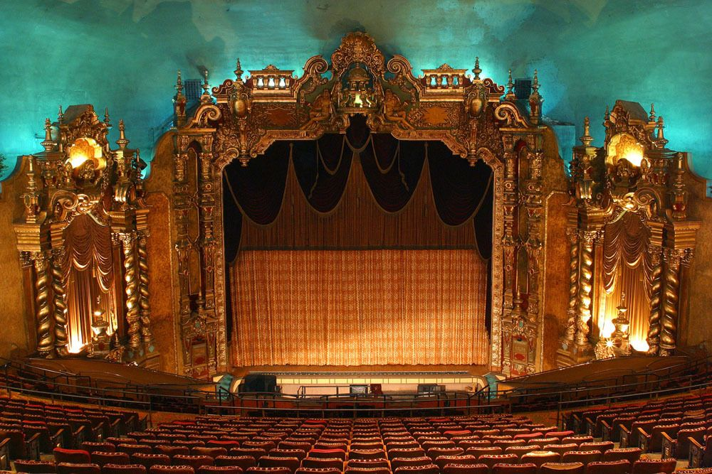 inside Keith Albee Theater in West Virginia, West virginia historic theater trail