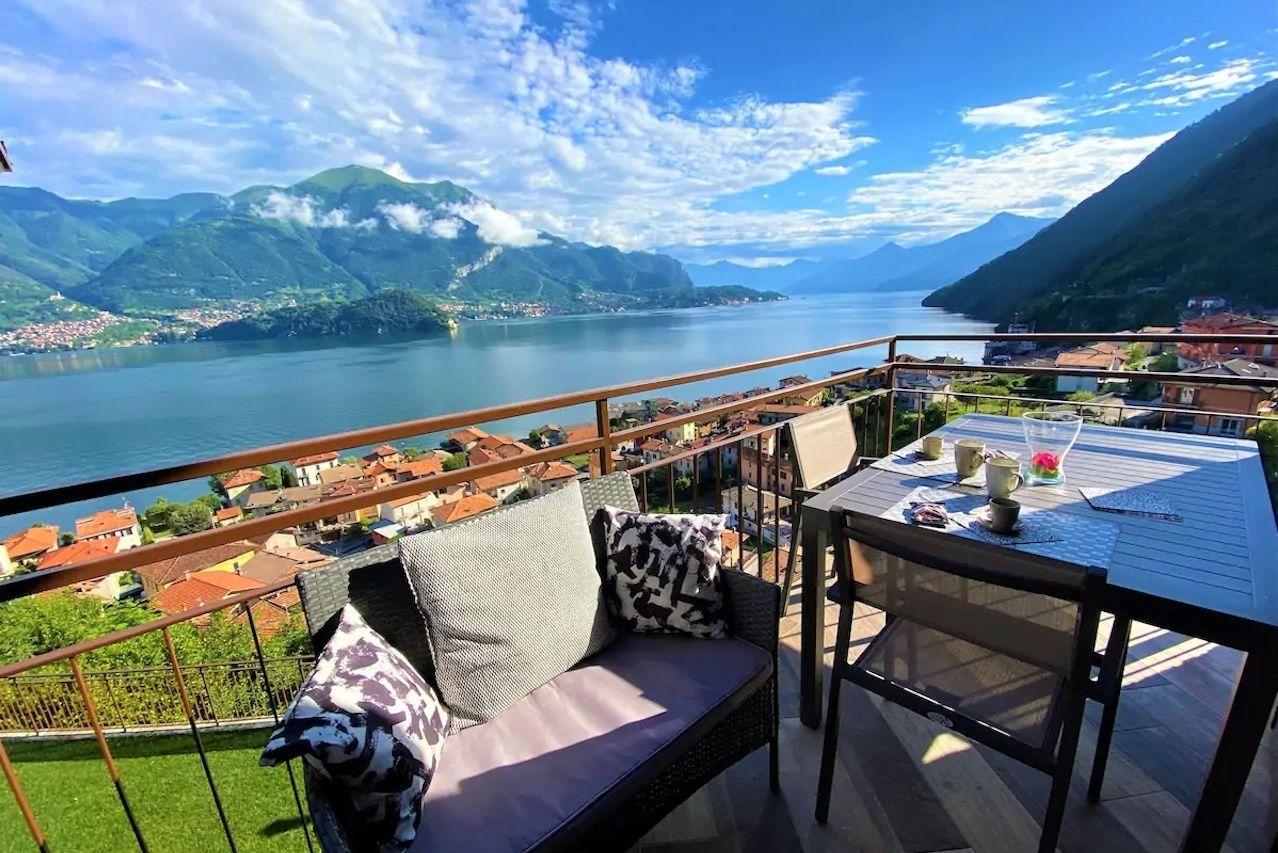 Lezzeno Bellavista House Airbnb overlooking ocean, Lake Como Airbnbs