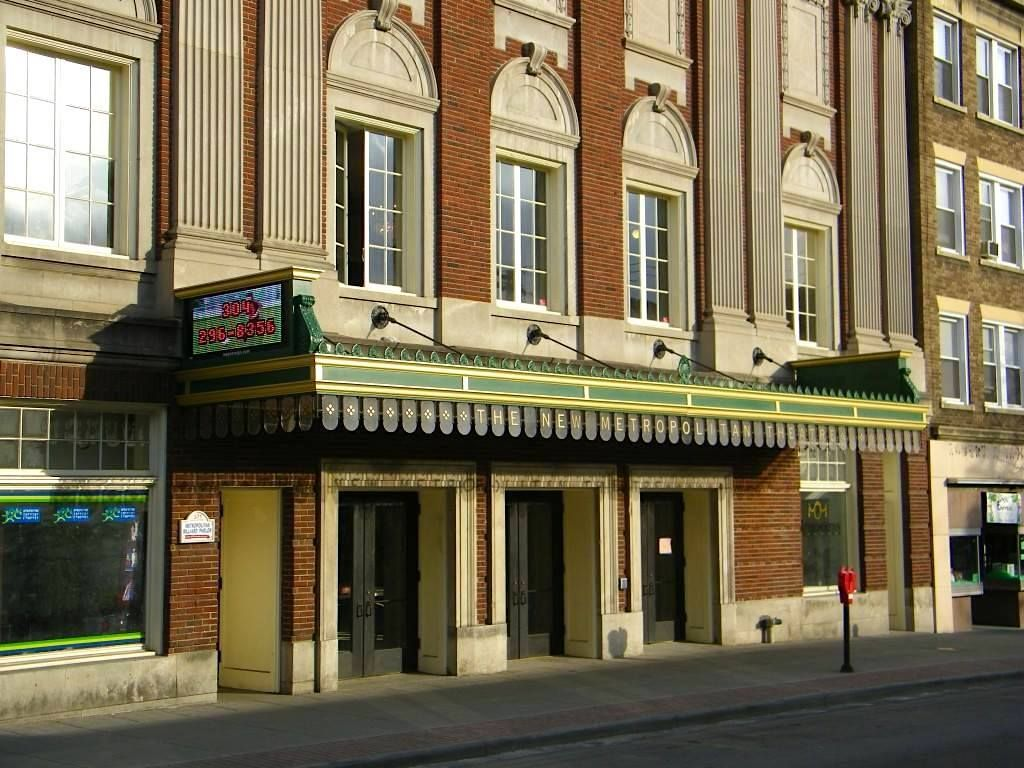 Metropolitan Theater West Virginia, historic theaters west virginia