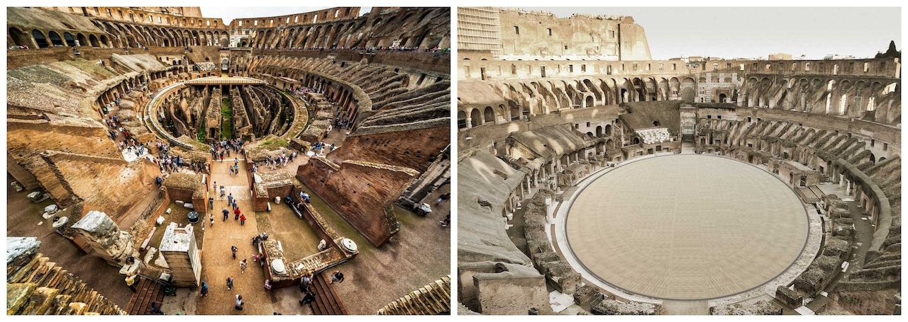 New stage planned for Rome's Colosseum
