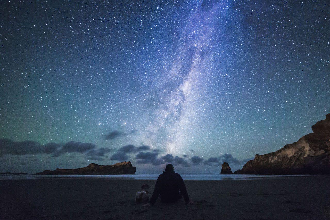 Night sky in Wairarapa New Zealand