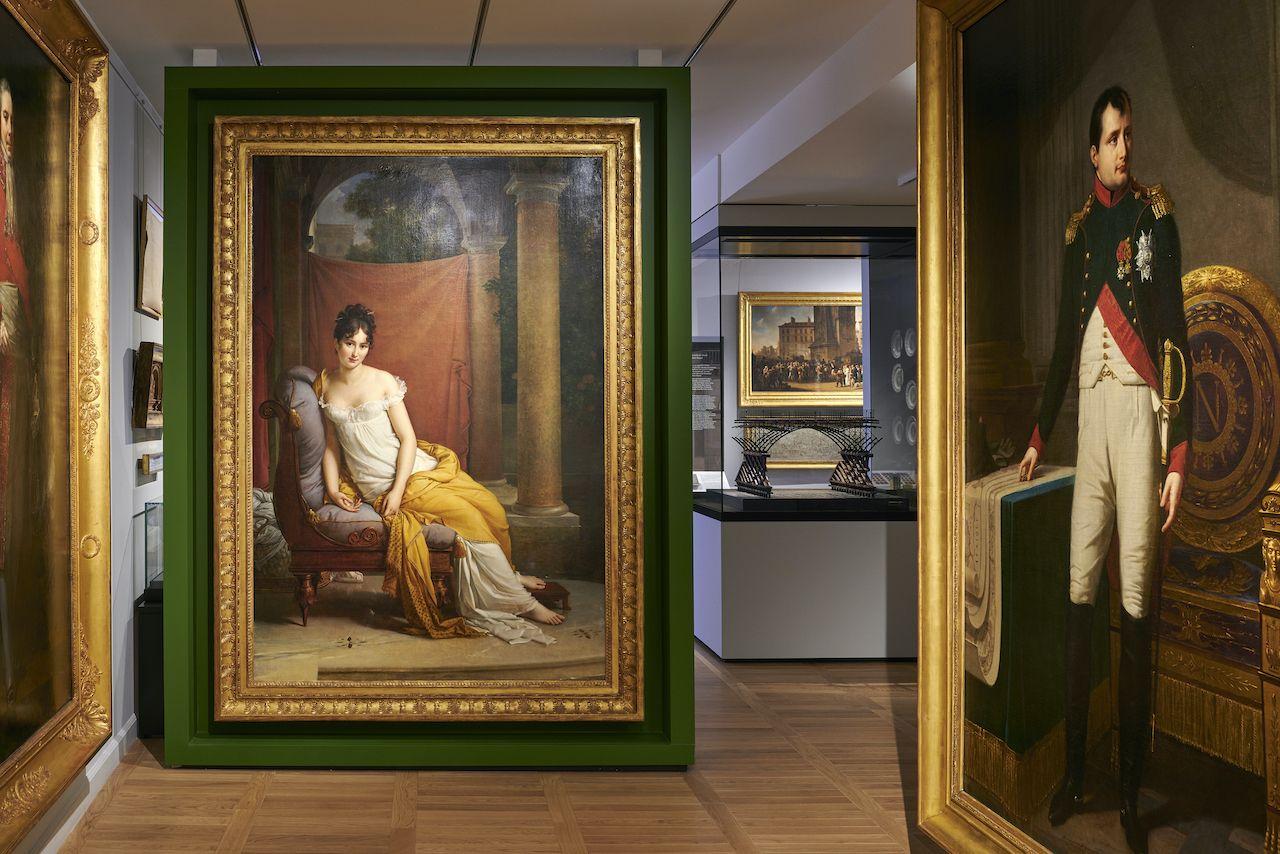 Portraits at Musee Carnavalet Histoire de Paris