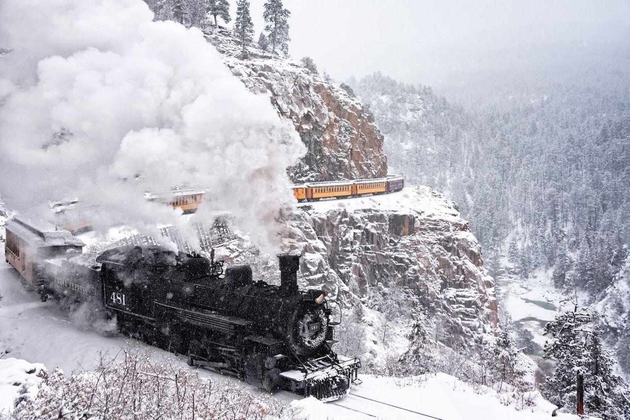 The Durango and Silverton Railroad