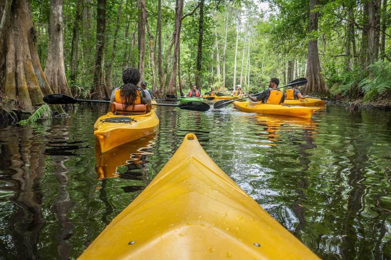 kayaking Shingle Creek Kissimmee