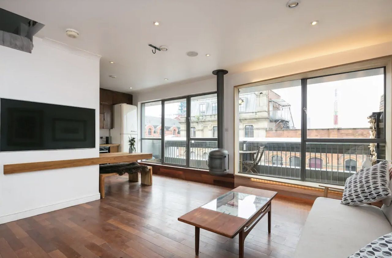 Boutique city centre penthouse apartment, best airbnbs in Manchester