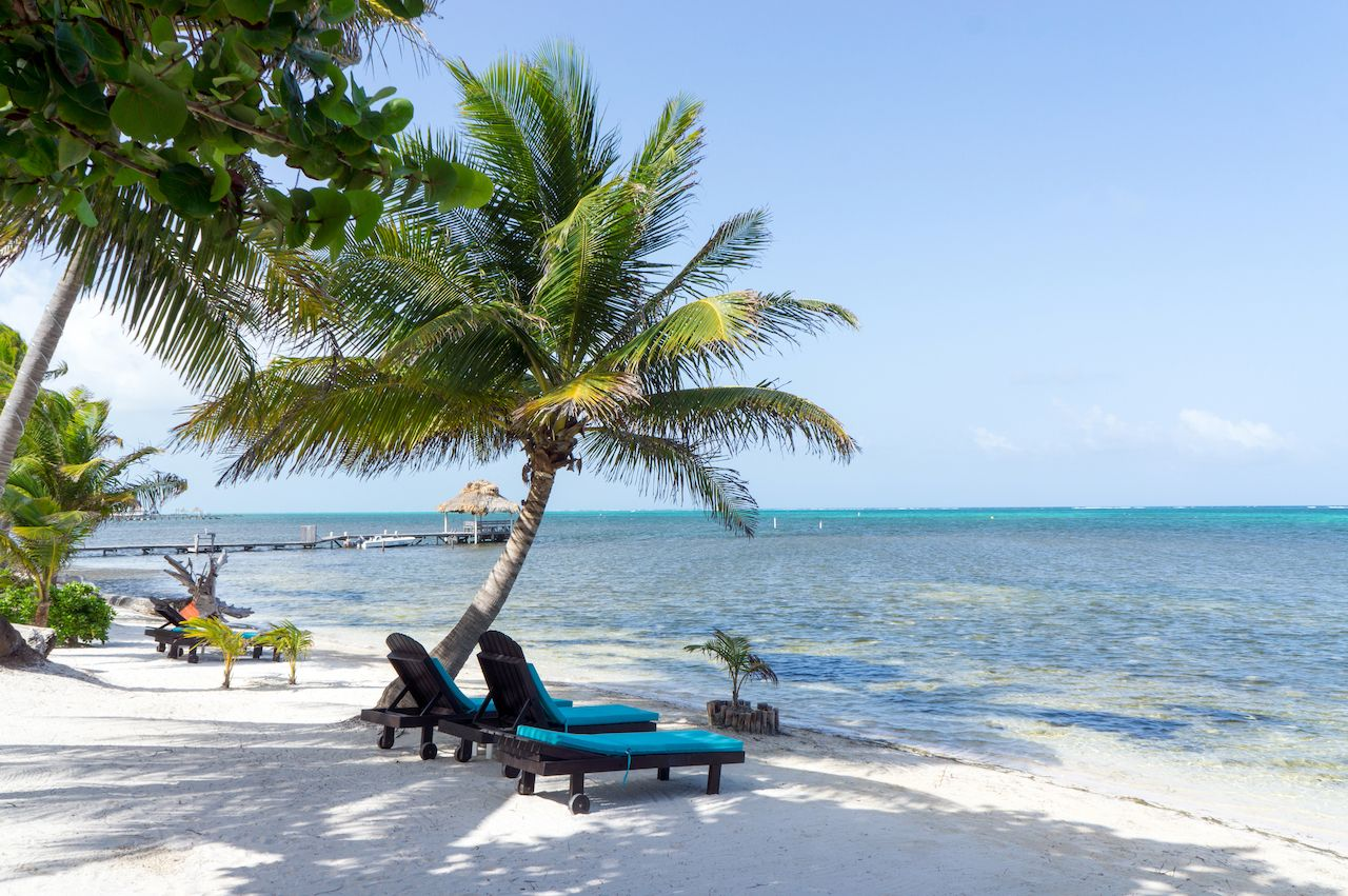 Ambergris,Caye,Beach,,Belize, where to stay in Belize