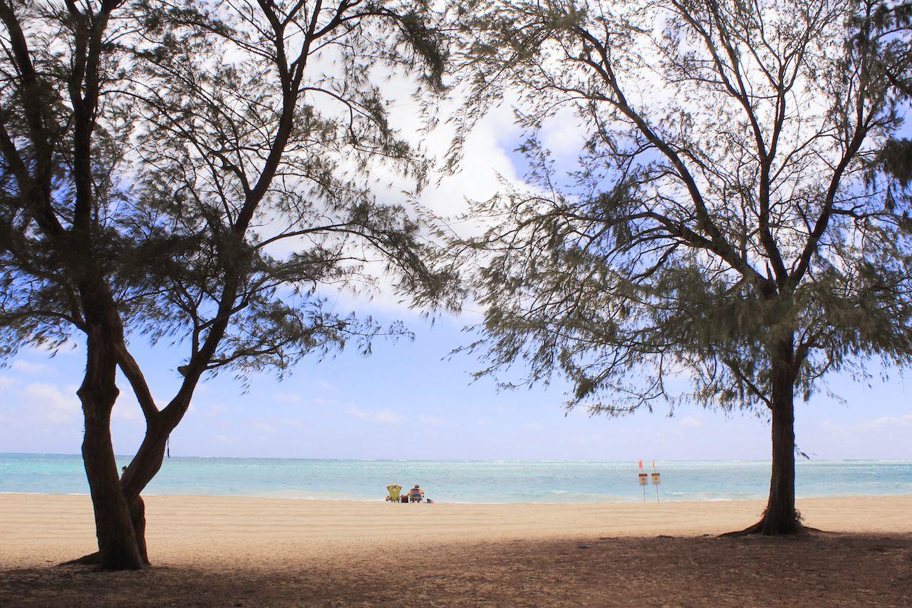Waimanalo Beach Park, Oahu, Hawaii., Oahu beaches for families