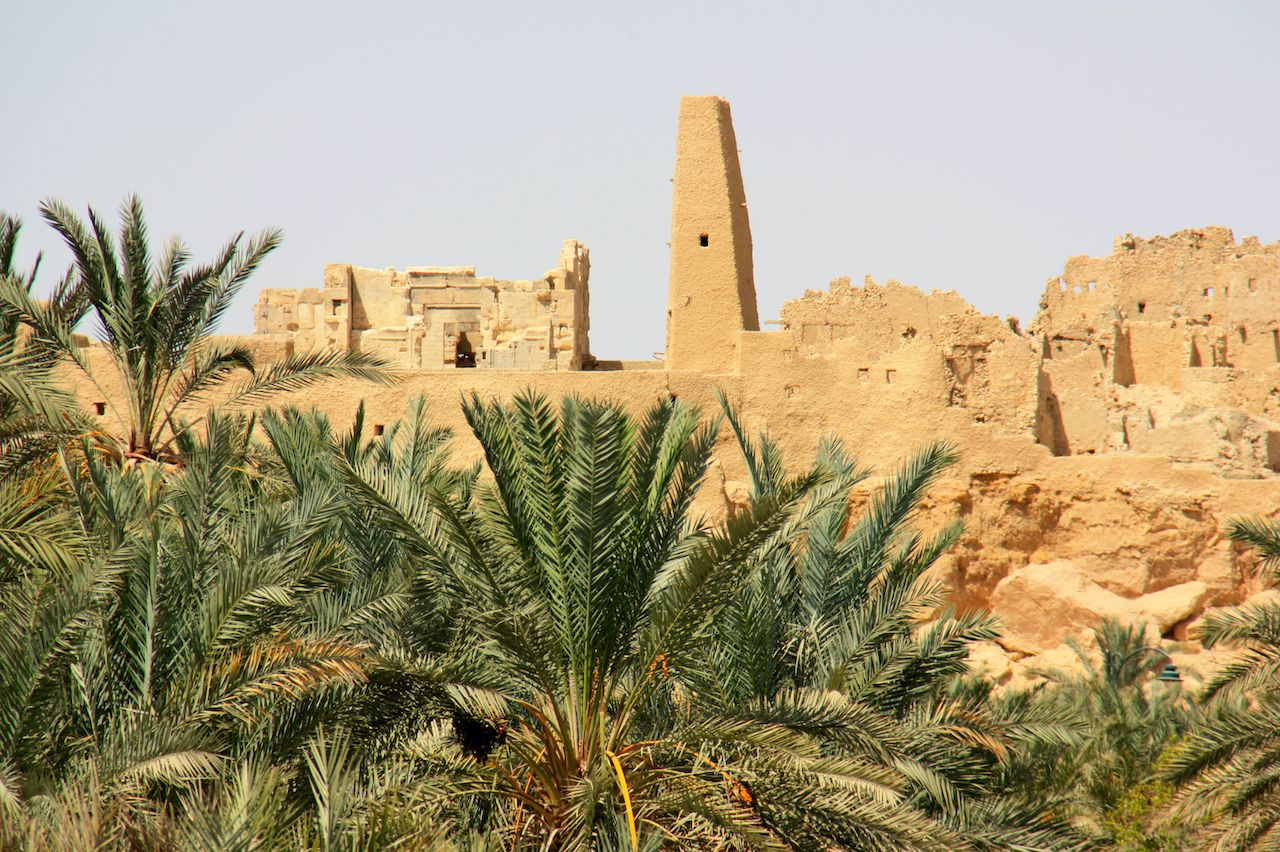The Temple Of The Oracle Of Ammon, Siwa Oasis, Egypt