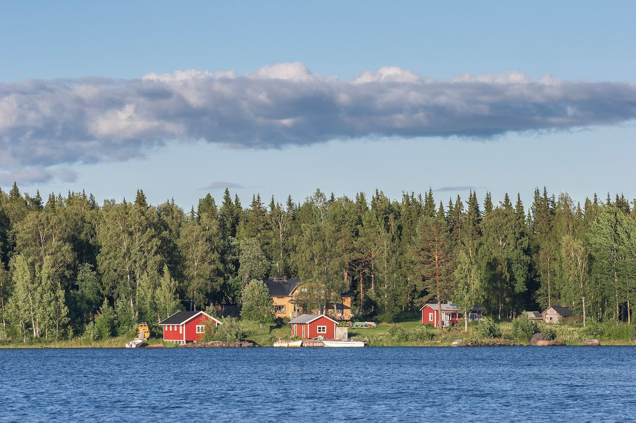 Land,And,Seascape,In,The,Lulea,Archipelago,,Northern,Sweden,,Scandinavia