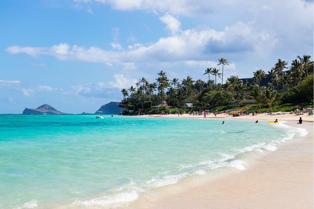 Lanikai Beach in Kailua, Oahu, Hawaii, Oahu beaches for families