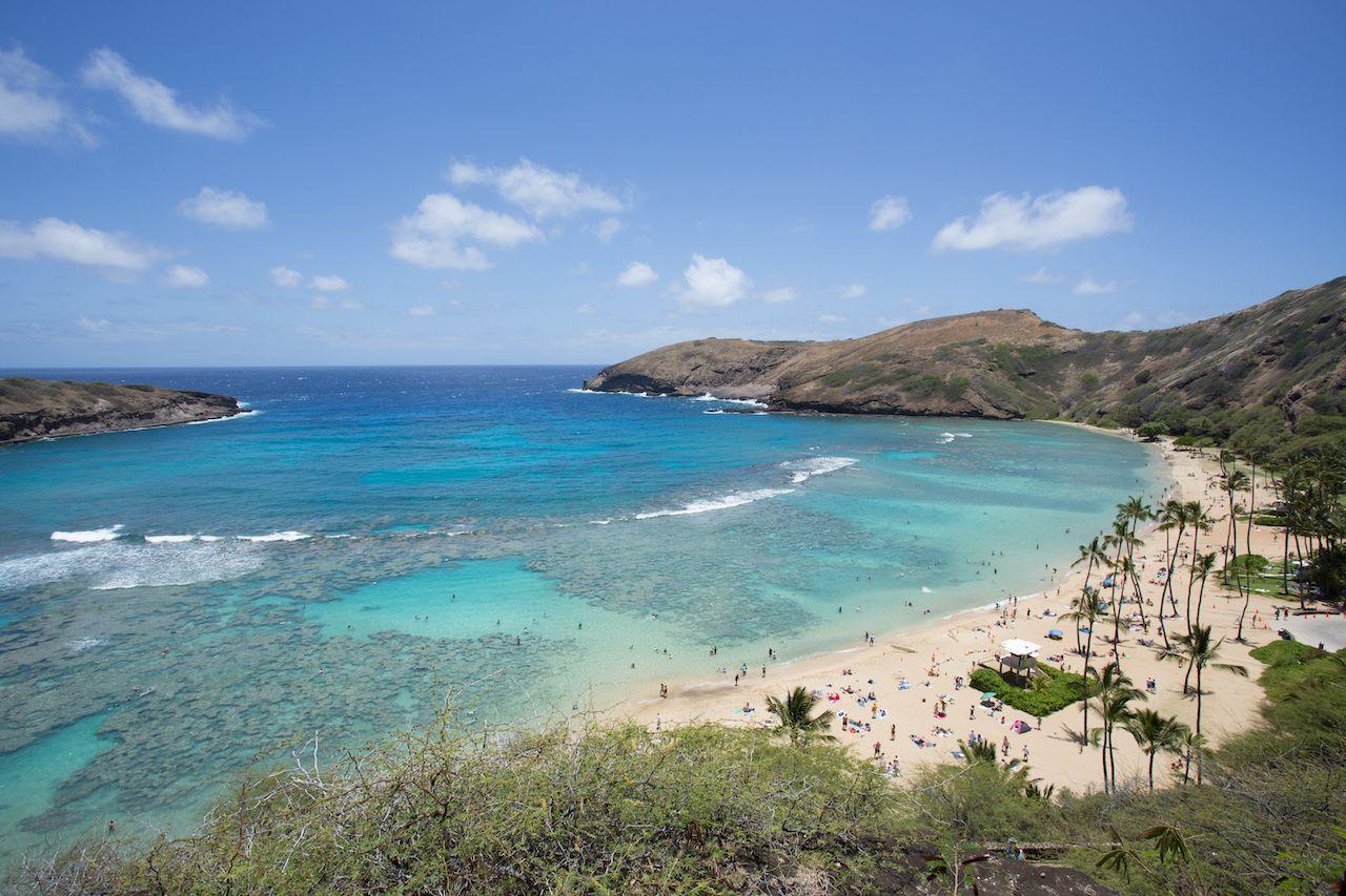 Hanauma bay Honolulu Hawaii, Oahu beaches for families