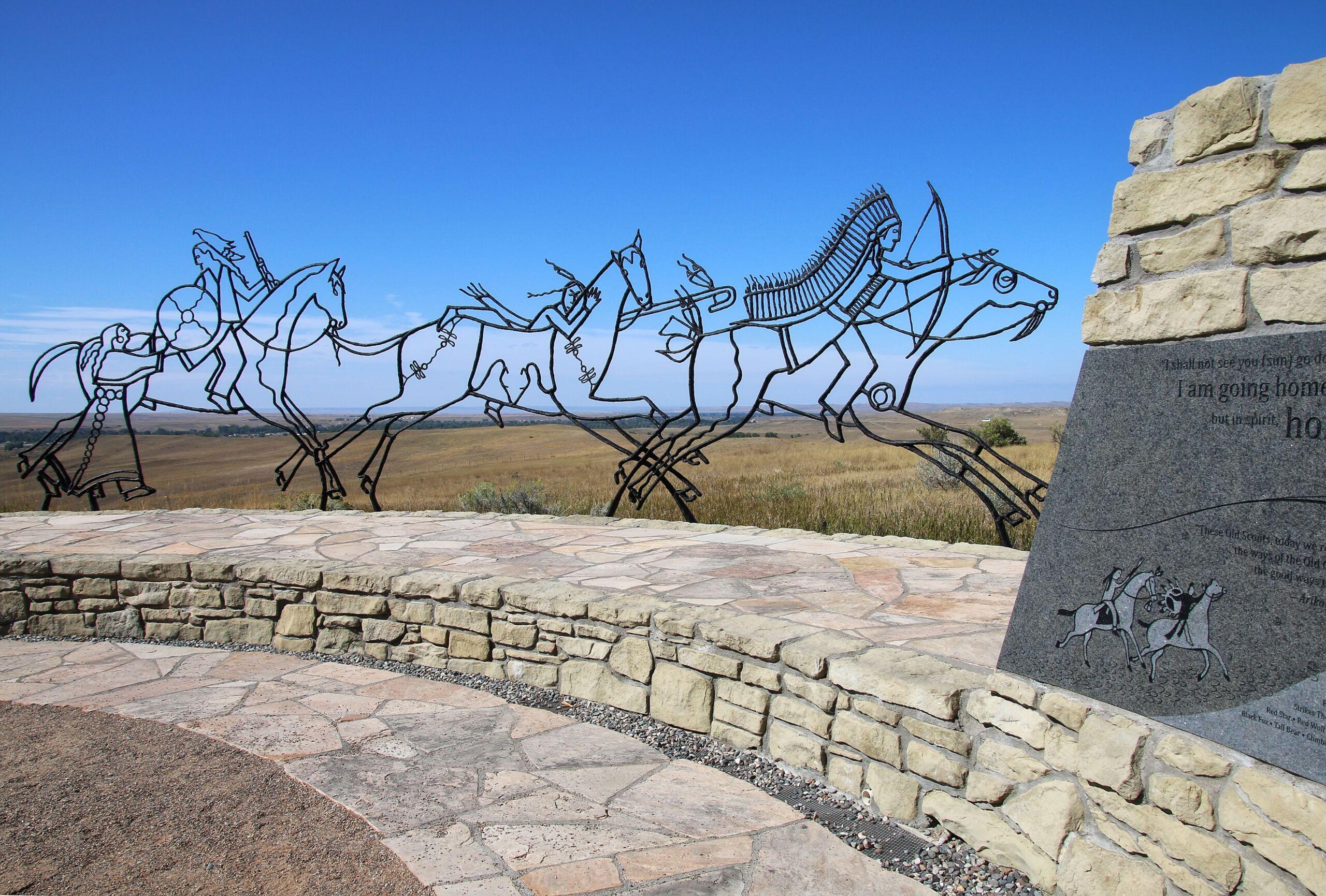 Montana,,Usa,-september,4:,Indian,Memorial,At,Little,Bighorn,Battlefield