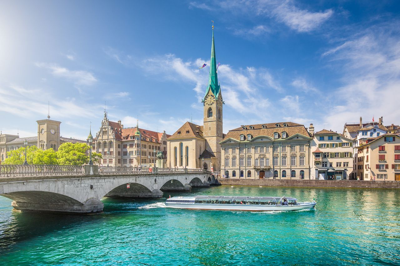 Beautiful View Of the,Historic,City, Save money in Zurich