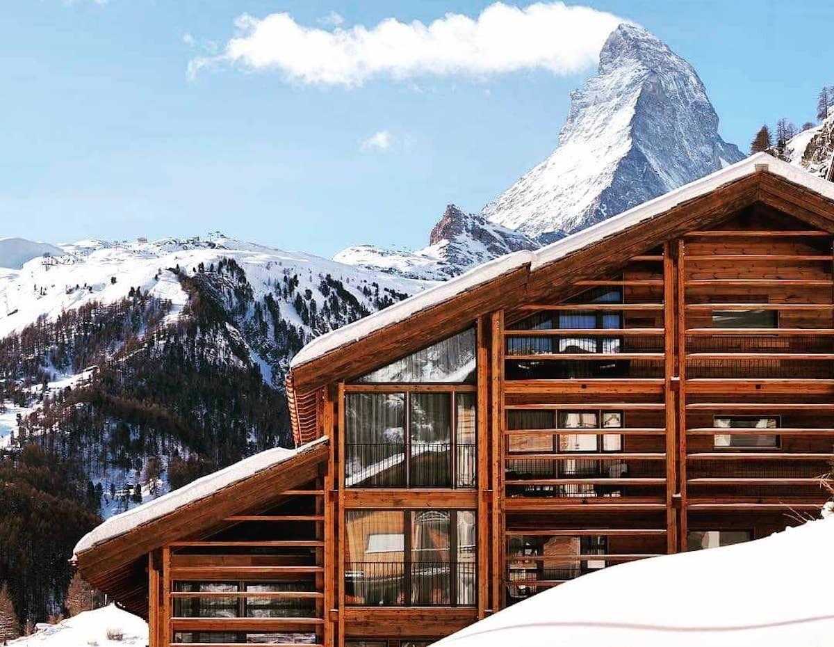 22 Summits Hotel in Zermatt is one of the best places to stay in Switzerland, Switzerland views