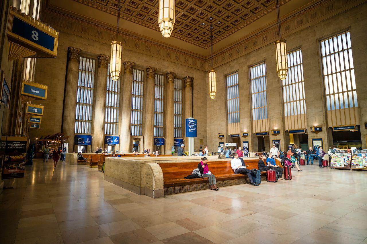 Philadelphia,,Pa.,-,Oct,20,:,30th,Street,Station,,A, beautiful train stations