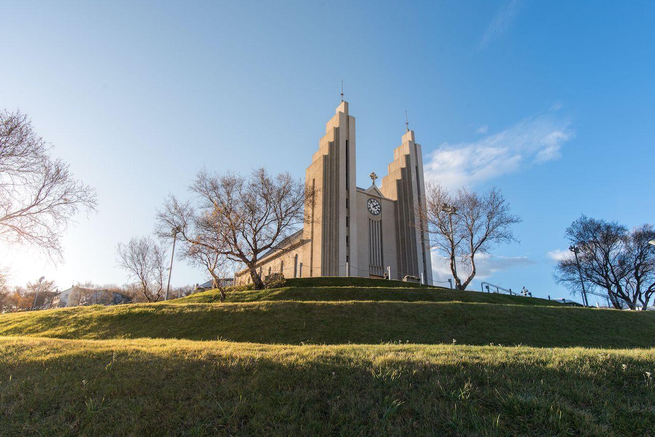 Akureyrarkirkja, Akureyri, church, Iceland