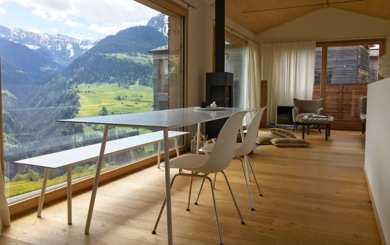 An Airbnb with a view, Graubunden, Switzerland, Switzerland views
