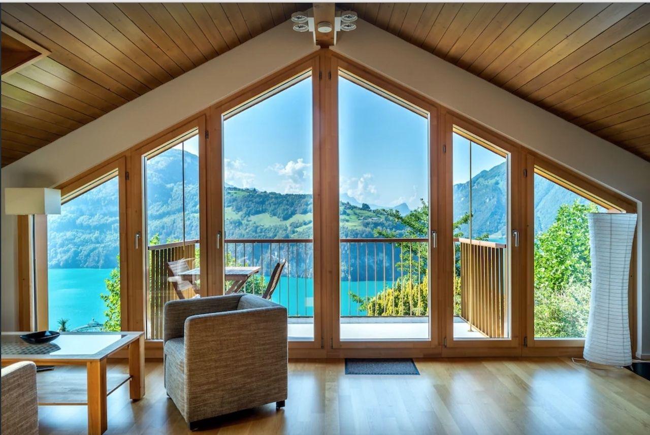 Apartment with views over Lake Lucerne in Switzerland, Switzerland views